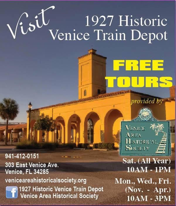 Venice Fl Calendar Of Events 2020.Venice Area Historical Society Calendar